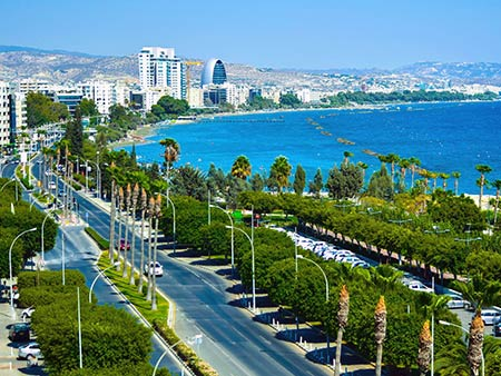 Limassol Cyprus sea front