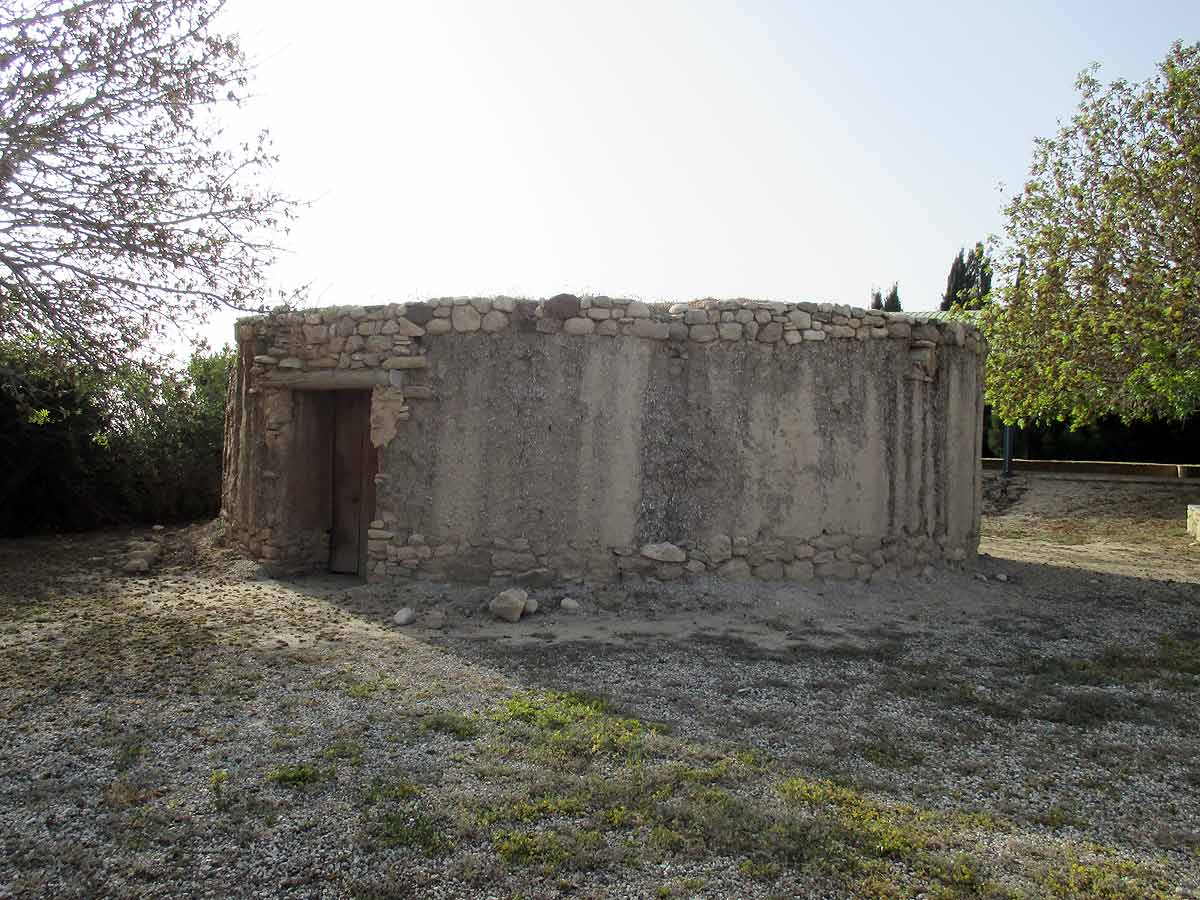 Kissonerga Mosfili Archaeological site - Reconstructed ancient house