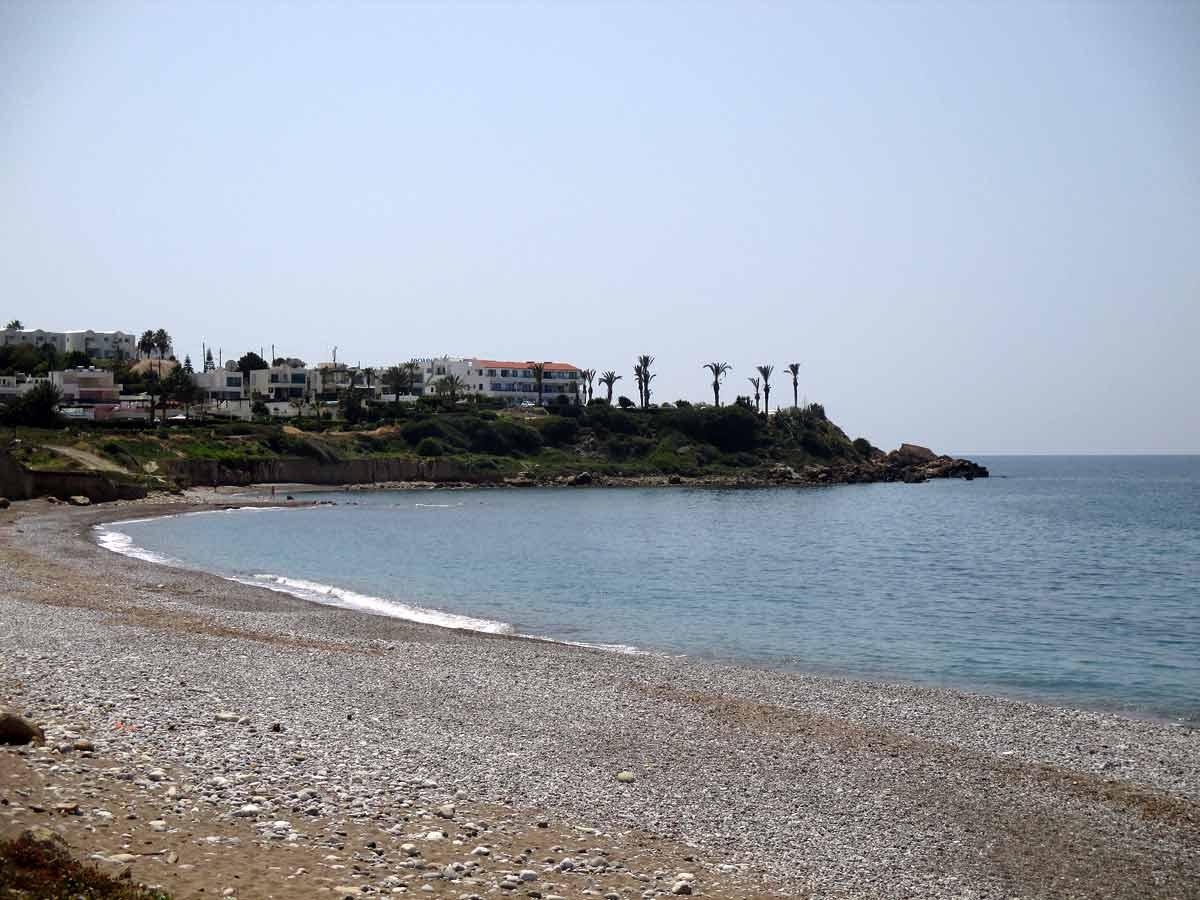 Kissonerga village - Potima Bay beach