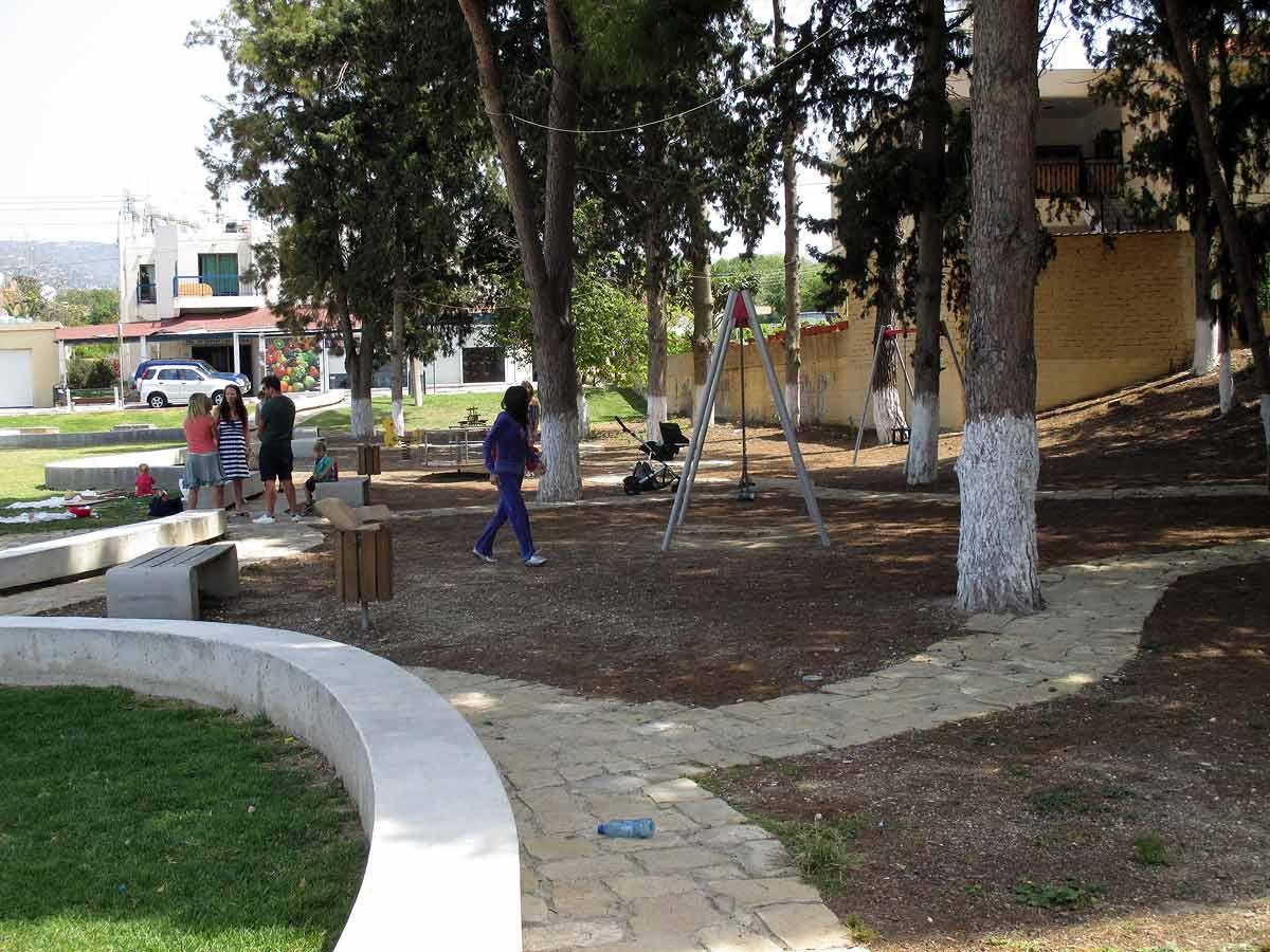 Kissonerga village - At the park