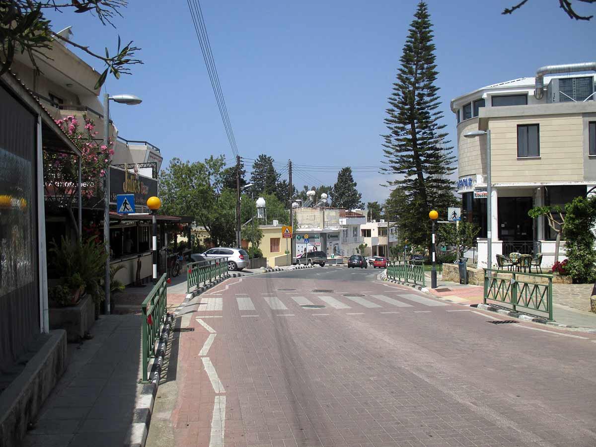 Kissonerga village center