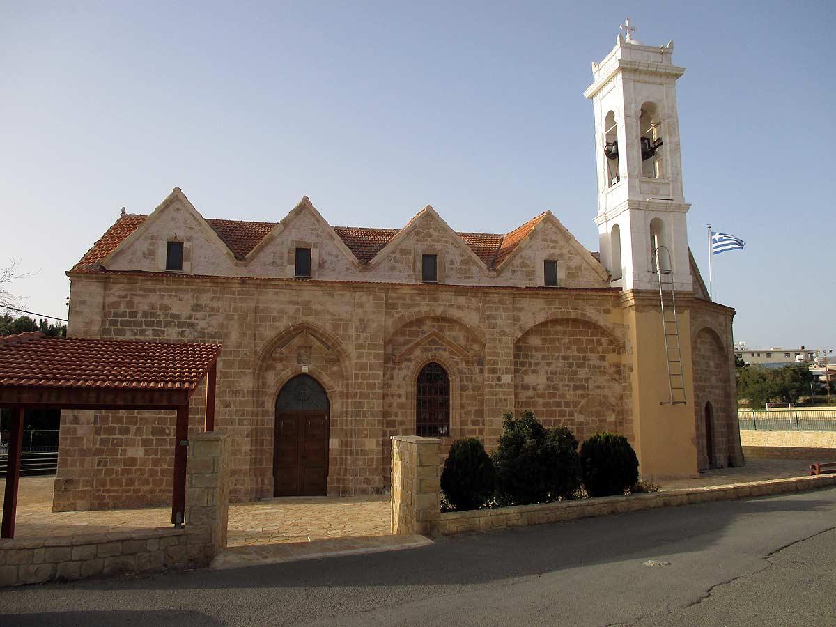 Kissonerga village church of Metamorfosi tou Sotiros