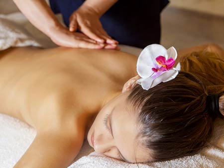 Spa treatment at Aqua Mare hotel, Kato Paphos