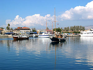 Kato Pafos port - Holidays to Paphos Cyprus