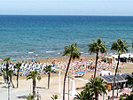 Larnaca Finikoudes beach - Holidays to Larnaca Cyprus