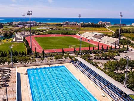 Geroskipou athletic centre - Sports training facilities in Paphos Cyprus