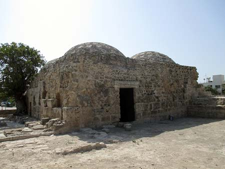 Kato Paphos Turkish baths 1 Medieval Ottoman period
