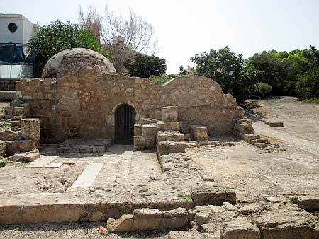 Kato Paphos Turkish baths 2 Medieval Ottoman period