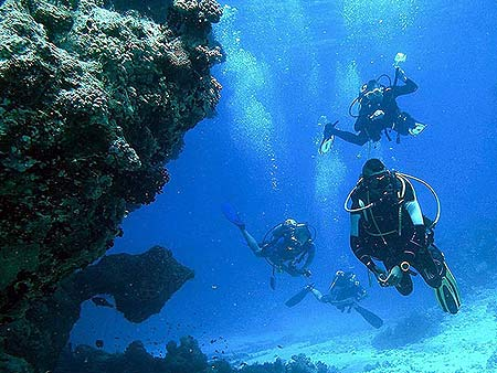 Scuba diving in Paphos