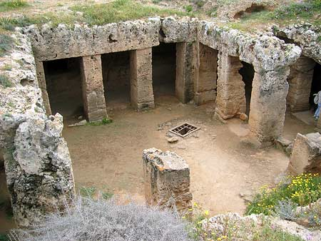 Tombs of the Kings Kato Paphos Cyprus